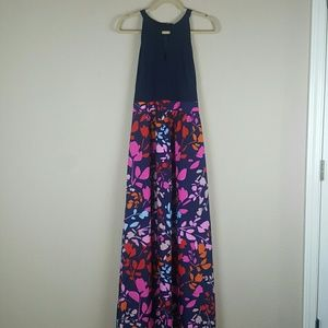 NWT Vince Camuto Halter Maxi Dress